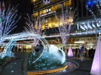博多駅前のイルミネーション1