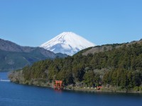 成川美術館から見た富士山